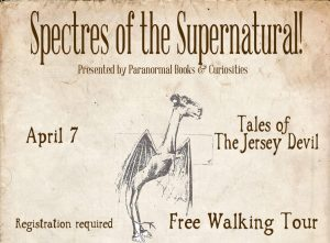 Tales of The Jersey Devil Walking Tour - Paranormal Books
